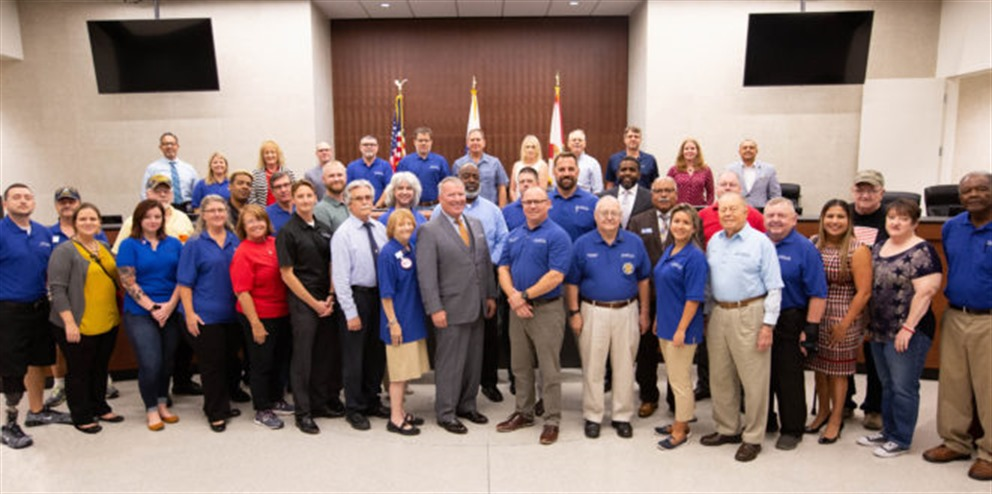 mayor's veteran advisory council group picture