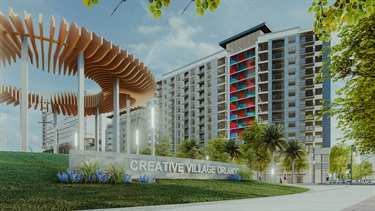 Rendering of Creative Village