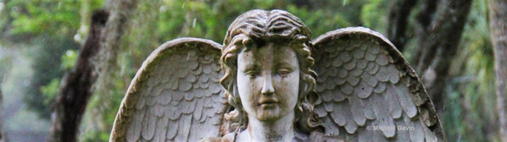 greenwood cemetery angel statue