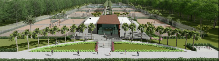 city park and tennis center rendering