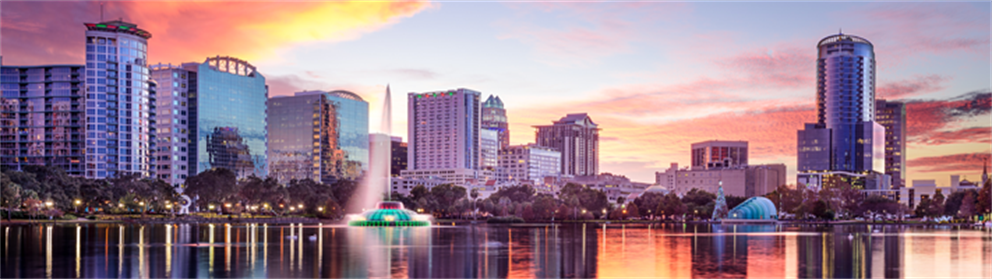 Lake Eola skyline