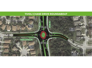 An image of the proposed Tivoli Chase Roundabout