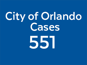 may 27, 2020 city of orlando cases is 551