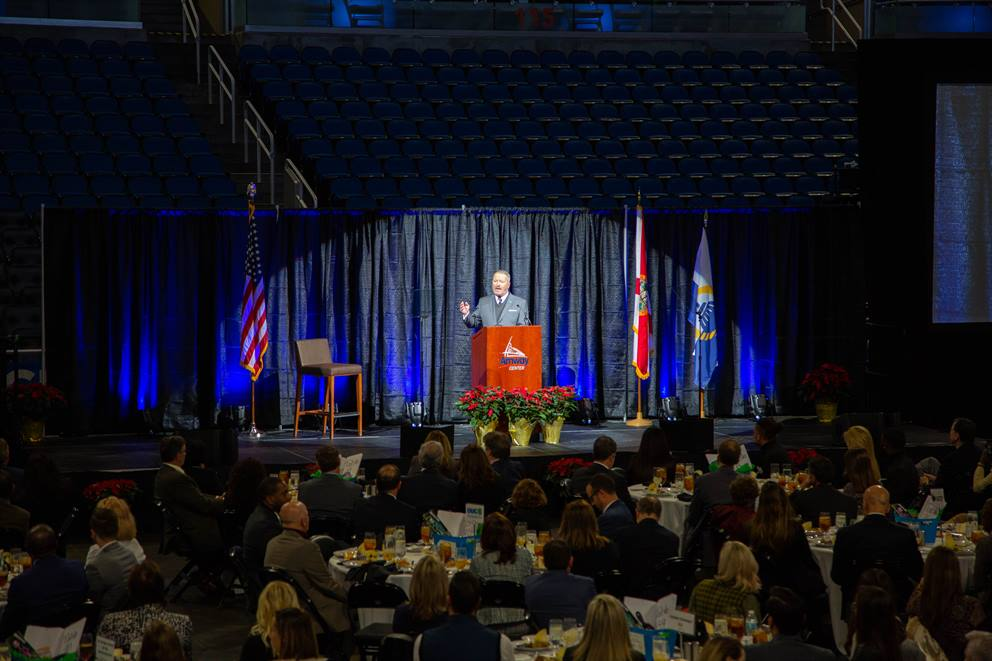 mayor at 2018 state of downtown