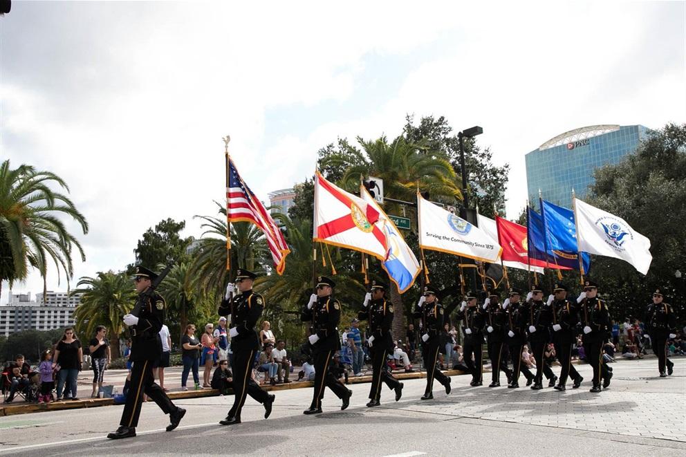Orlando Home And Garden Show 2020.2020 Veterans Day Parade City Of Orlando