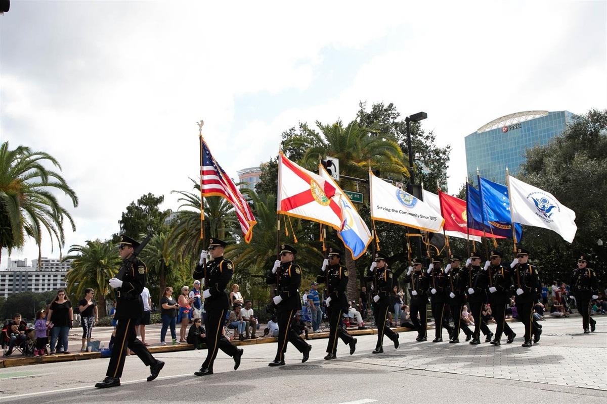 Lake Baldwin Christmas Parades 2020 2020 Veterans Day Parade   City of Orlando