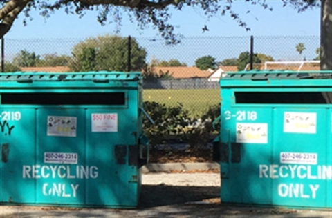 Commercial Recycling Dumpsters