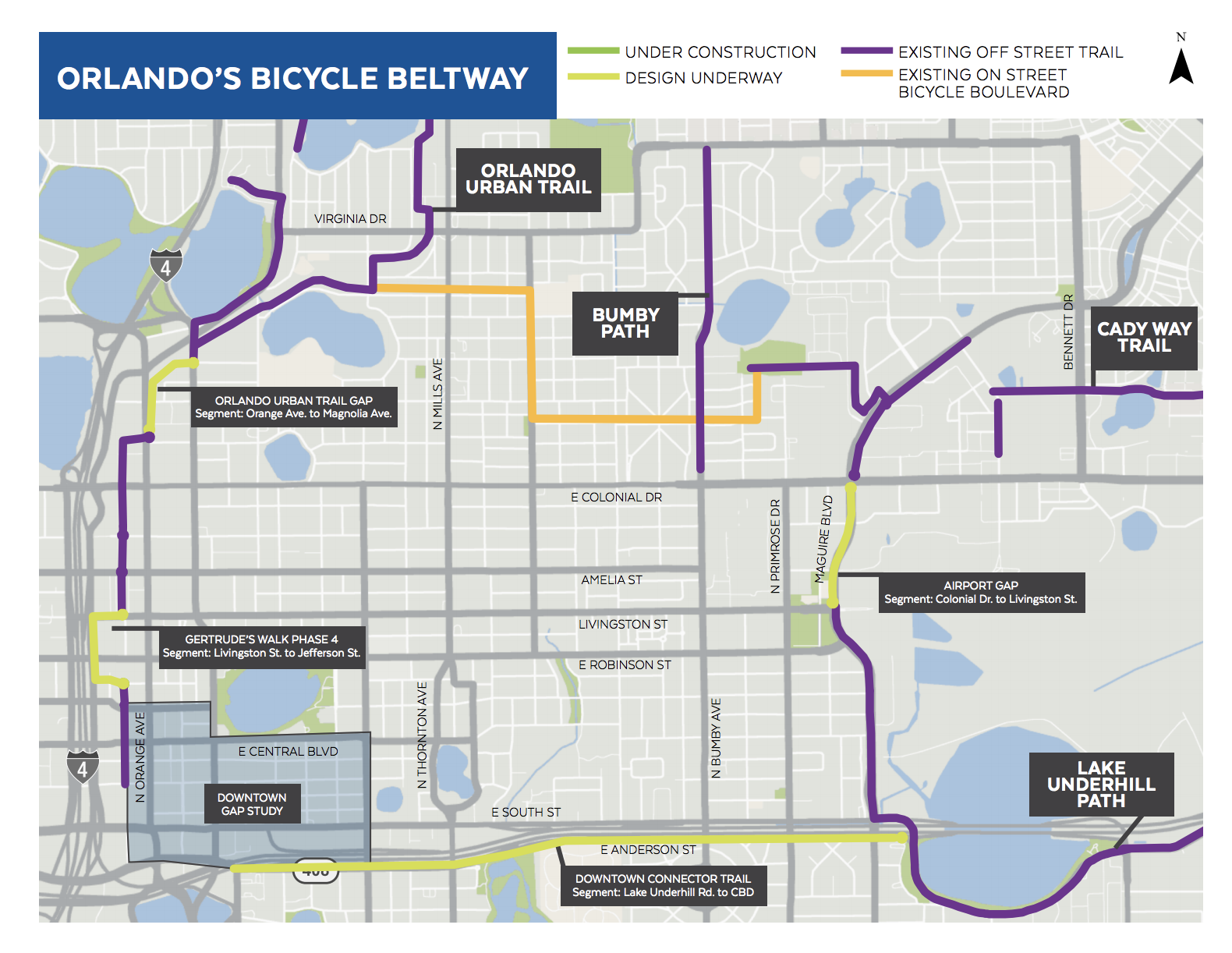 Bicycle Beltway Map