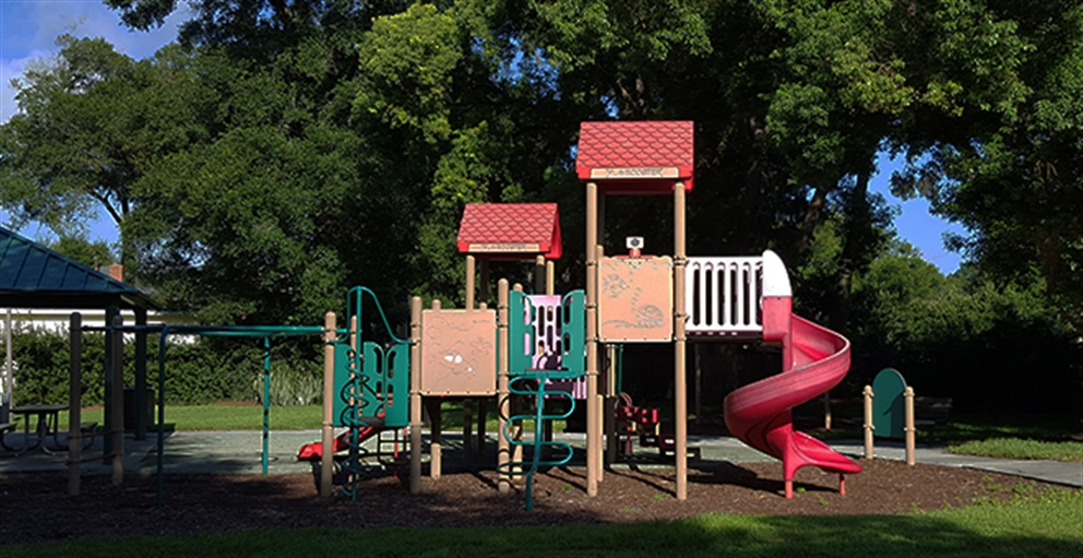 Playground at Cherry Tree Park