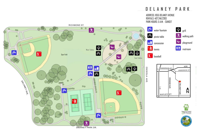 Delaney Park - City of Orlando