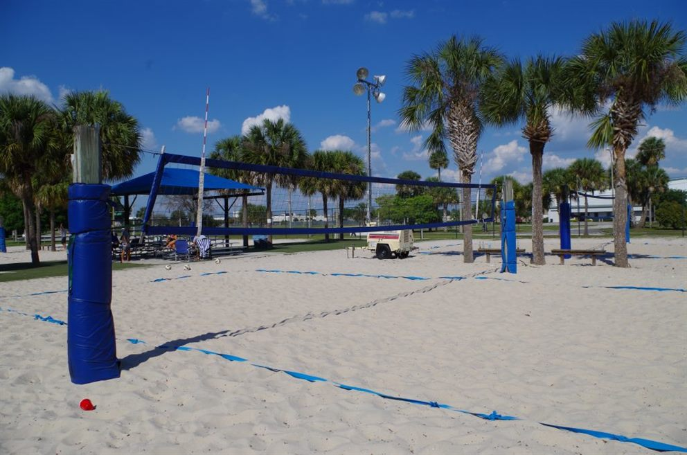 Sand Volleyball at Festival Park